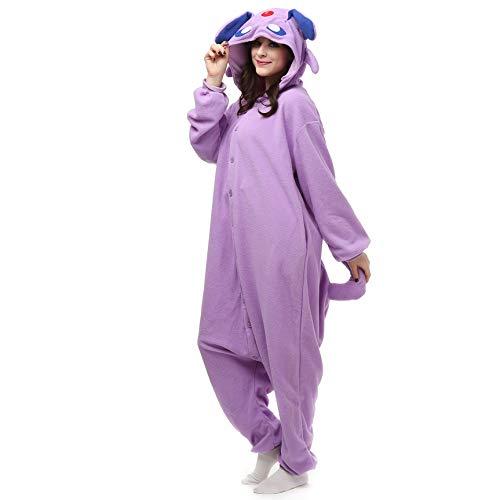 Kostüm Tier Cosplay Hoodie Onesie Erwachsene Pyjamas Cartoon Party Halloween Nachtwäsche Männer Frauen Unisex Kigurumi