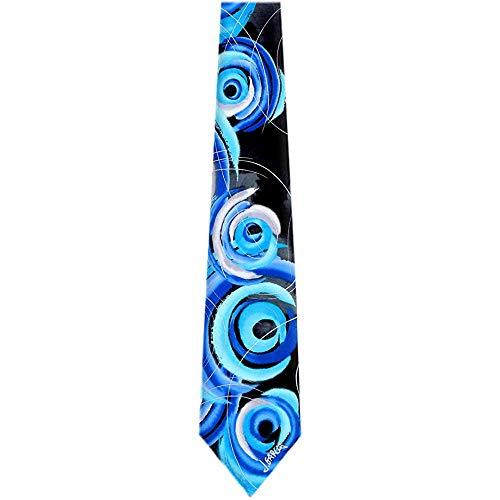 Silk Designer BIRDLAND Collection 23 Aqua Krawatten -