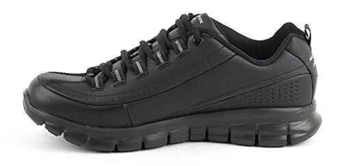 Skechers - Flex AppealNext Generation, pantofole da donna nero (pelle)