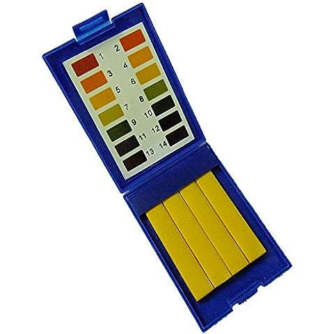 Generic-80 fogli pH 1-14 tornasole indicatore di carta, 2 confezioni