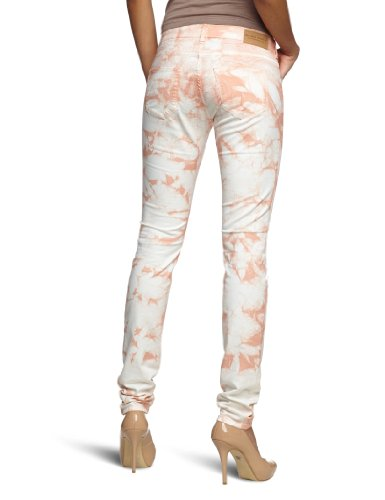 Scotch & Soda Maison Damen Hose 13251285713 - PARISIENNE - COLOUR TIE DYE Mehrfarbig (35 - coral rock)
