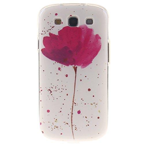 Aeeque iPhone 5S/SE/6/6S (Plus), Samsung galassia S3/S4/S5/S6/S6 bordo/S7/S7 bordo/A3/A5/(2016)/J1/J5/G360/G530, Sony Xperia Z3/M4, Huawei P8 Lite copertura dellalloggiamento sacchetto della copertur Rosa Lotus