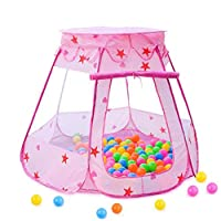Hengxing Kids Play Tent Princess Children Ball Pit Pool Tent House For Kids Indoor And Outdoor Use