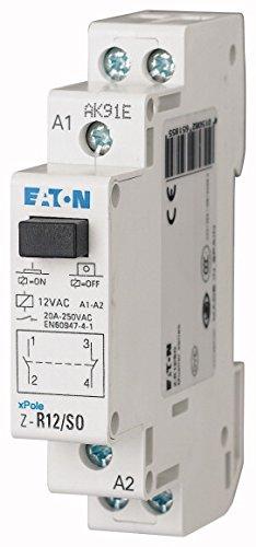 EATON MOELLER 265 185 Z-R12 / SO RELE DE LA INSTALACION  12V 50HZ  1 M + 1B