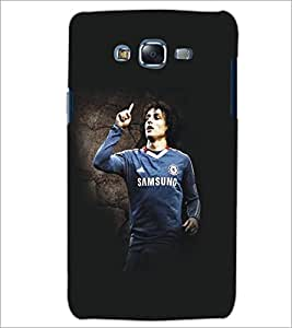 PrintDhaba Football Player D-5420 Back Case Cover for SAMSUNG GALAXY ON 5 (Multi-Coloured)