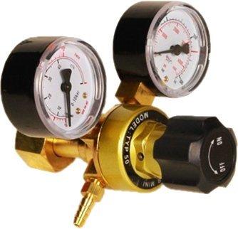 Preisvergleich Produktbild Druckminderer CO2 Argon MIG MAG WIG Schutzgas Schweiß Gas Druckregler 0-315 Set by AJS