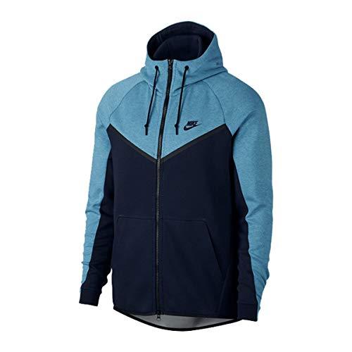 Nike Herren Sportswear Windrunner Jacke, (Aegean Storm/Heather-Obsidian-Black), X-Large