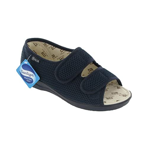 Mirak Celia Ruiz 214 Wide Fit Sandal / Womens Sandals (7 UK) (Navy)