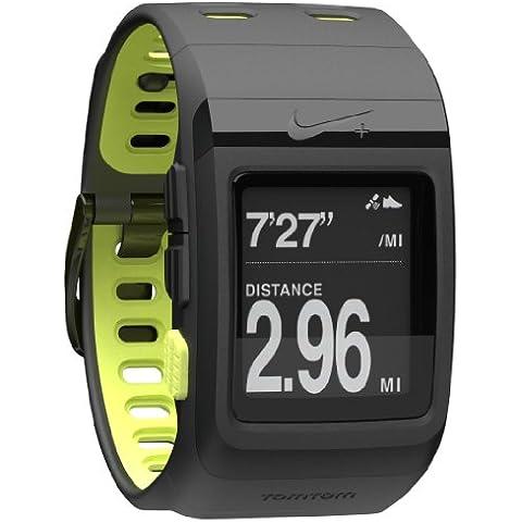 TomTom Nike+ Sportswatch GPS - GPS para carrera, color negro