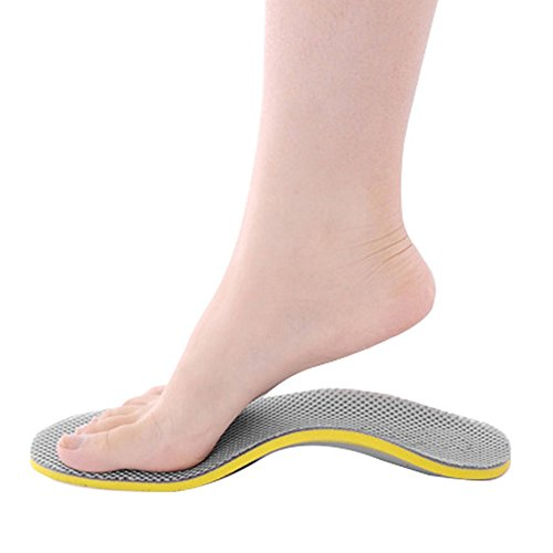 Plantillas ortopédicas, Sunbeter EVA High Arch Support Pies planos alivian las plantillas de calzado para hombres y mujeres