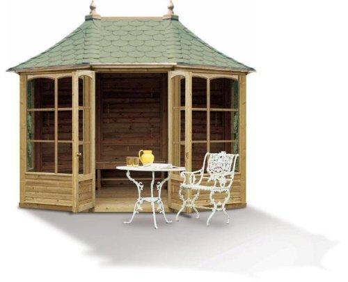 Pavillon Auvergne octagonale en bois grand