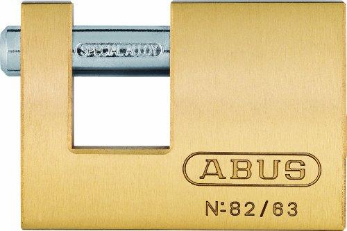 Abus 82/63 KA8502 - Candado rectangular de latón 63mm llaves iguales