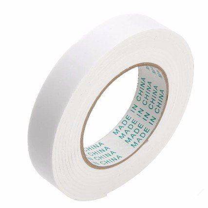 Caxmtu Strong Double Sided Tape Foam Sticky Double Faced Adhesive