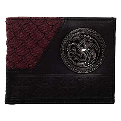 Game of Thrones House Targaryen Bi-Fold Wallet Standard