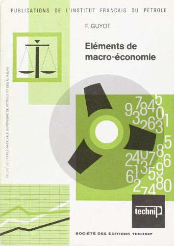 Eléments de macro-économie par Fernand Guyot