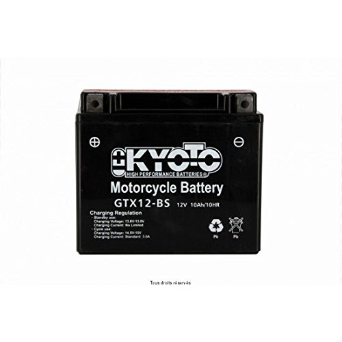 KYOTO - BATTERIA Ytx12-bs - L150xl87xH131 - Senza Manutenzione - Fornita con acido