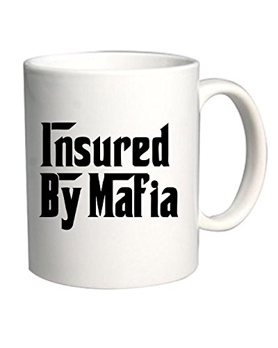 T-Shirtshock - Tazza 11oz OLDENG00131 insured by mafia (3), Taglia 11oz
