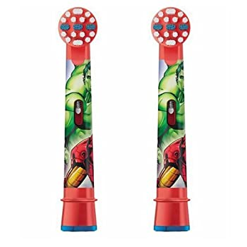 Oral-b Stages Avengers Kids 2 X Replacement Heads 0