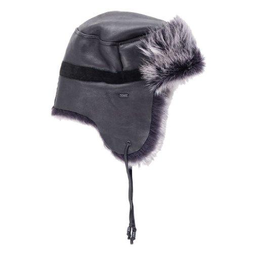 Cygnet Hat Damen Trapper Mütze von EMU Australia in Schwarz