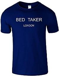 Bed Tacker Hommes Femmes Dames Drole T Shirt