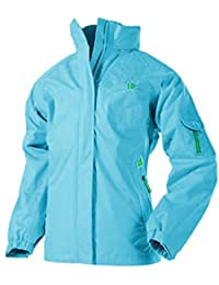 Target Dry Mia Girls Waterproof Breathable Windproof Hooded Jacket Green