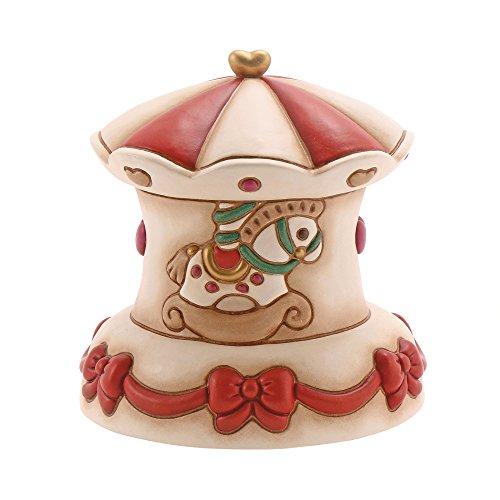 THUN Carillon Carosello Oggetti Decorativi, Ceramica, Variopinto