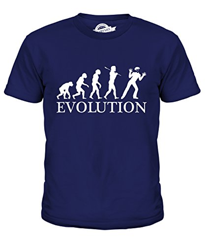 Candymix Mime Evolution Of Man Unisex Kids T Shirt Boys/Girls/Toddler/Children T-Shirt