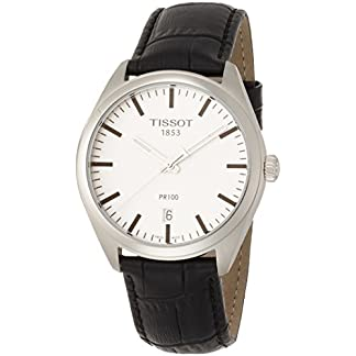 Tissot Reloj Analógico para Hombre de Cuarzo con Correa en Cuero T1014101603100