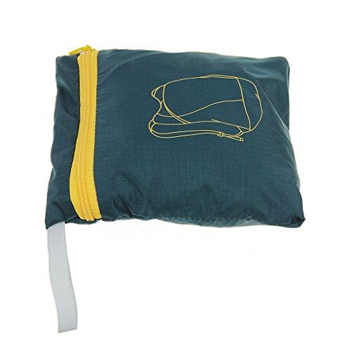 unimango Ultra Light Packable handliches Reise Rucksack wasserabweisend Tagesrucksack Outdoor Umhängetaschen 14L Blau - blau