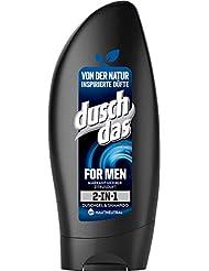 Duschdas For Men 2 in 1 Duschgel & Shampoo, 6er Pack (6 x 250 ml)