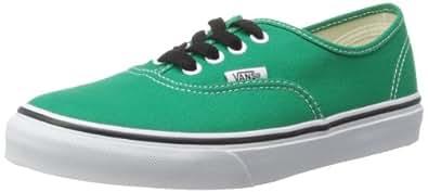 Vans - Kids Authentic Shoes In Pepper Green, Pepper Green/True White, 12 Child UK
