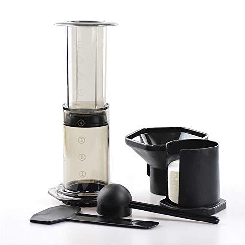 DKEyinx Tragbare Kaffee Espressomaschine Presse Topf Filterpapiermaschine, Filterwerkzeugsatz,...