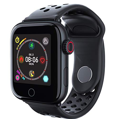 Yallylunn Yallylunn Fashion Bluetooth Smart Watch Heart Rate Monitor Bracelet for Android IOS Social Software Erinnerungsfunktion wasserdichte Sportuhr einfach zu tragen