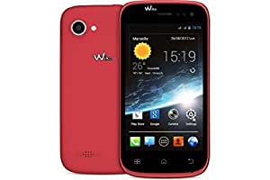 Wiko Cink Slim 2 Smartphone Bluetooth/Wi-Fi/USB Android 4.2.2 Jelly Bean 4 Go Orange