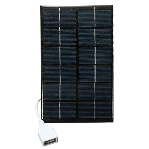 Características:  Panel solar policristalino de 6V 2W con la carga del USB Alto índice de conversión, salida de la eficacia alta. Excelente efecto de luz baja Minería de alta temperatura de la transmisión de vidrio templado Tecnología única para evi...