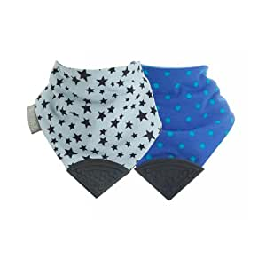 Cheeky Chompers Neckerchew Stars and Spots Multipack
