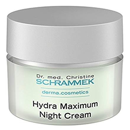 Dr. Christine Schrammek Hydra Maximum Night Cream-50 Ml. Intensive Night Cream for Dehydrated Skin...