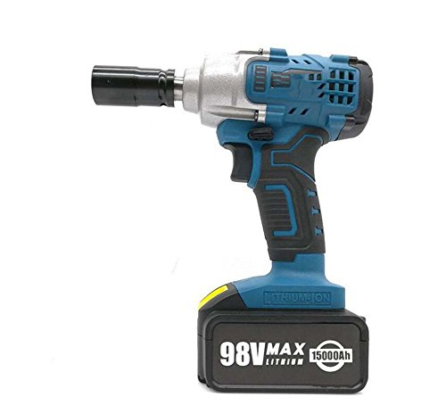 Clé à cliquet électrique, clé à chocs, support de chargement de batterie au lithium, menuiserie, entretien, installation d'outils d'installation de pistolet pneumatique