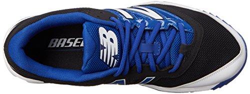 Chaussure De Baseball New Balance Mens T4040v3 Turf, Noir / Bleu, 10 D Noir Us / Bleu