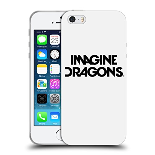 Offizielle Imagine Dragons Smoke And Mirrors Kunst Soft Gel Hülle für Apple iPhone 6 / 6s Logo