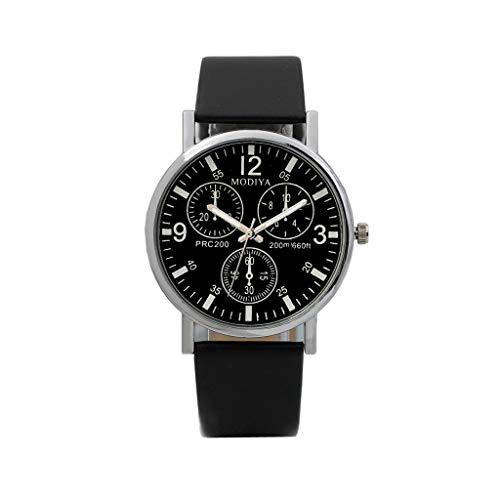 Herren Männer Mode Quarz Geschäft Luxury Quarz Uhren Six Pin Uhren Quarz Herrenuhr DREI Augen Armbanduhr Edelstahl Wasserdicht Six Pin Analog Quarz Uhr Armband -