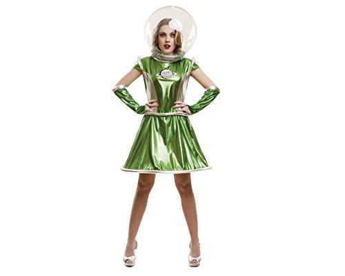 My Other Me-Galactica Erwachsener Kostüm, Größe S (viving Costumes mom02616) (Galactica Kostüm)