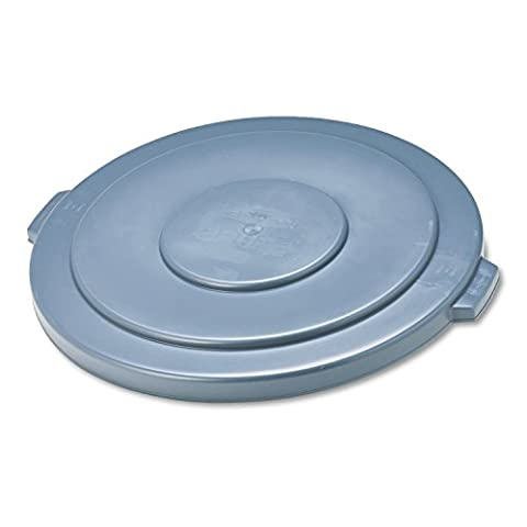 Round Brute Lid, 26 3/4'' dia, Gray, Sold as 1 Each