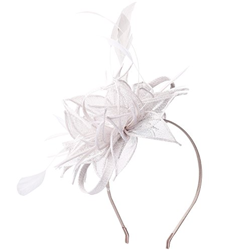 Stirnband Fascinator Hochzeit Cocktail Tea Party Derby Headwear Rennen Royal Ascot Hüte (Tea-party-kostüme)