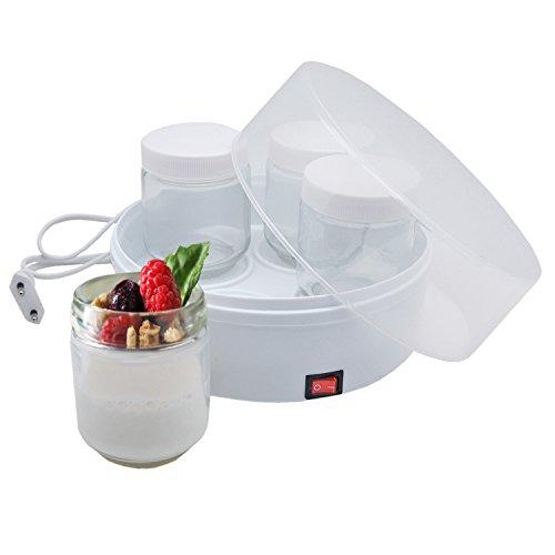 Joghurtbereiter - Joghurtmaker mit 4 Gläsern
