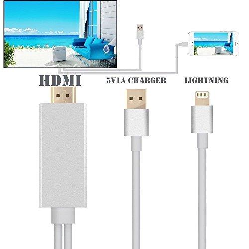 Marke neue 8Pin auf AV HDMI/HDTV TV Kabel Adapter für Apple iPhone 6(weiß)