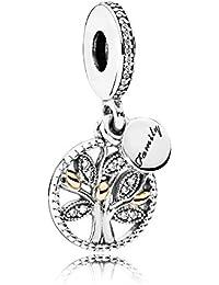 Pandora accesorios Mujer oro vermeil circón talla baguette