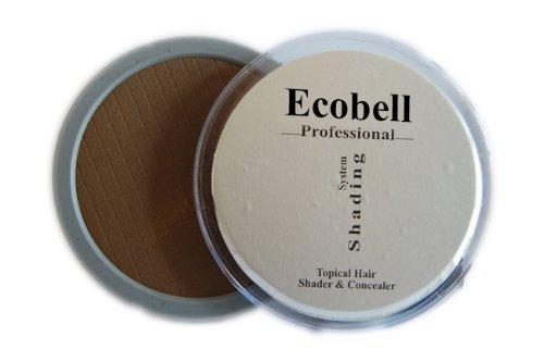 Ecobell Topical Shader 5 G NOIR Mascara Capillaire masque calvitie, cicatrices, cheveux blancs