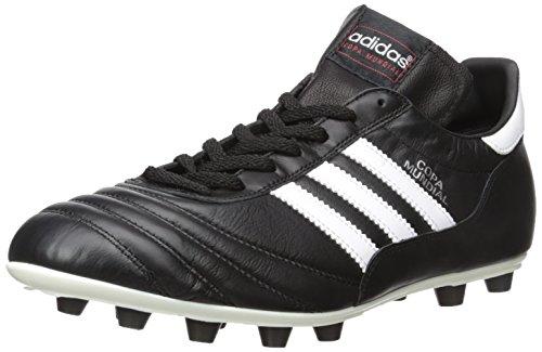 Adidas Copa Mundial - Scarpe da Calcio Unisex - Adulto, Nero (White/black), 38 2/3 EU