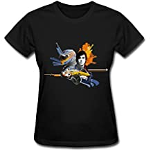 Women's Fernando Alonso Formula 1 T-Shirt- Black